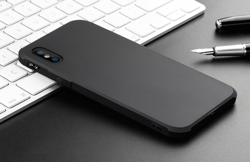 Prouphcs For iPhone X Case Soft Silicone TPU Cover Case for iPhone 7 8 Plus 6 6S 5S Full Protective Shockproof Phone Case 8