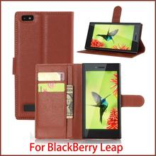 New For BlackBerry Leap Case Hight Quality Luxury Flip Leather Stand Case For BlackBerry Leap Leather Cover Book Style Case