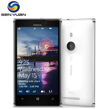 "Original 925 phone Nokia lumia 925 Windows Phone 4.5"" 1GB RAM  16GB ROM 8.0MP Wifi GPS 4G Mobile Phone"