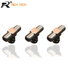 SIZE 1:2 F PLUG WHOLESALE F MALE TO 2F JACK CONNECTOR GOOD QUALITY INTERNATIONAL STANDARD CHEAP 20PCS/LOT(China)