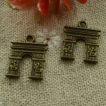 210 pieces bronze plated nice charms 18x14mm #2537