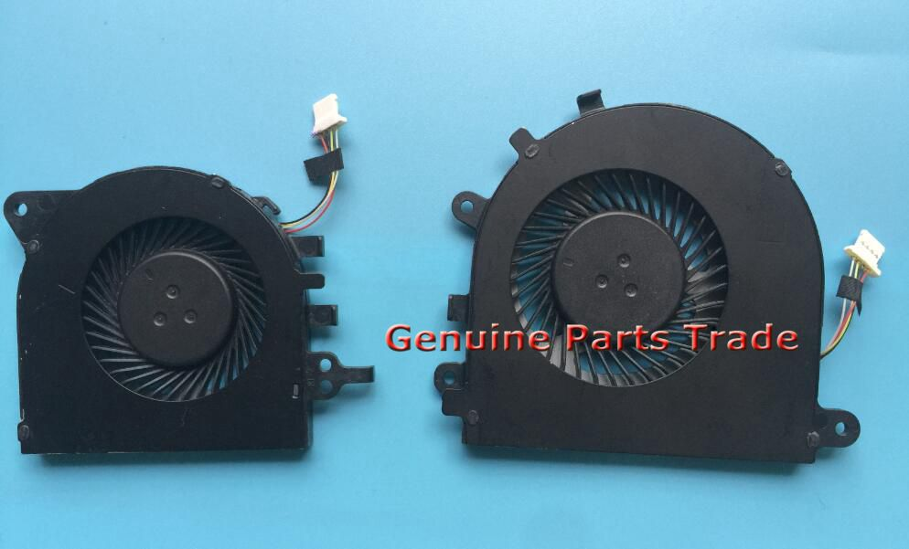 for Dell Inspiron 15 7547 7548 CPU/&GPU Cooling Fan r 0D2T4F left  015M67  0F3RVH