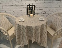 2014 Special Offer Crochet Tablecloth Tablecloth Table Cover 100% Cottonhigh Quality Bohemian Style free Shipping free(China)