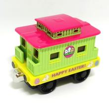 m032 Free shipping New Thomas and friend diecast magnetic alloy Children's toy train happy easter eggs caboose Limited Edition