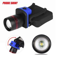 3000 LM Head Lamp CREE XPE Q5 LED 3 Mode Clip Cap Brim Light By AAA Battery Focusing Zoom Fishing Hiking Working Protable tools