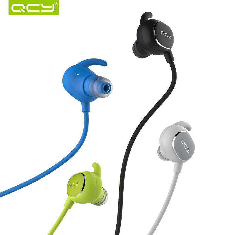 QCY QY19 bluetooth 4.1 earphones wireless headphones sports headset for ios android iphone samsung LG HTC xiaomi huawei etc<br><br>Aliexpress