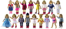 New Style 5 Set Doll Clothes for 18 Inch American Girl Handsome Casual Wear(China)