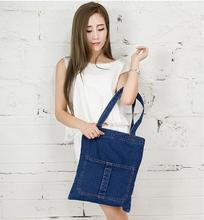 Women Messenger Bags blue Jean Bags Women Hand Tote Bag  Shoulder Women Bag