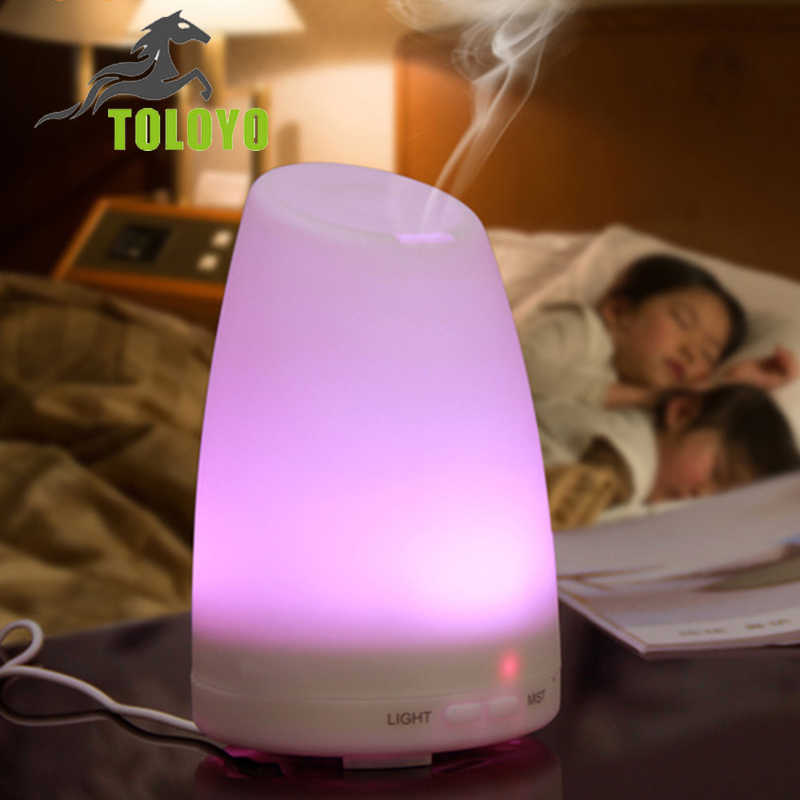 Toloyo nebulizer essential oil diffuser With Changing 7 Color LED Lights Electric Aromatherapy Essential Oil Aroma Diffuser<br><br>Aliexpress