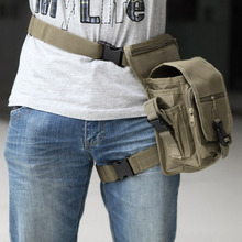 20*15*12cm Outdoor Waterproof Tactical Stylish Military Solid Utility Thigh Pouch Waist Belt Pouch Weapons Sports Drop Leg Bag(China)