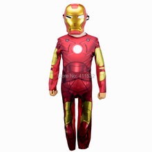 Iron Man boy Costume Ironman superhero for movie kids costumes for children halloween party cosplay Birthday Gift CO43135147