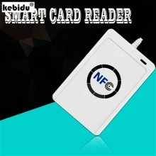 Buy kebidu Hotest NFC ACR122U RFID smart card Reader Writer Copier Duplicator clone software USB S50 13.56mhz ISO 14443+5pcs UID Tag for $39.85 in AliExpress store