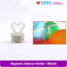 10 pcs/bag Free Shipping Mini Heart Magnetic Balloon Weight
