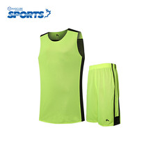 Hot Sale Professional Basketball Jersey Solid Color Cool Sleeveless Round Neck Breathable Youth Clothing(China)