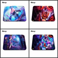 Computer Games Table Mat Super league of legends Good Series Photo Printing Rubber Rectangle Mouse Pad PC Computer Rubber Pad