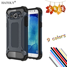 HATOLY For Cover Samsung Galaxy J5 Case Silicone Rubber Armor Shockproof Phone Case For Galaxy J5 Cover For Samsung J5 2015 #<