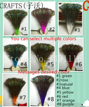 Fast delivery, 25 pc Wholesale  72-80CM / 29-32 inch high-quality natural peacock feather DIY decoration holiday party