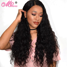 Mshere Hair Water Wave Brazilian Hair Weave Bundles Natural Color Remy Human Hair Weaving 10-28inch Can Be Dyed Extentions