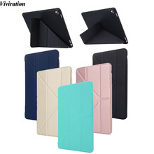 Viviration Newest Folio Stand Case Auto Sleep/Wake Function Tablet Accessories For Apple iPad Pro 9.7 Good Use Fashion Case(China)