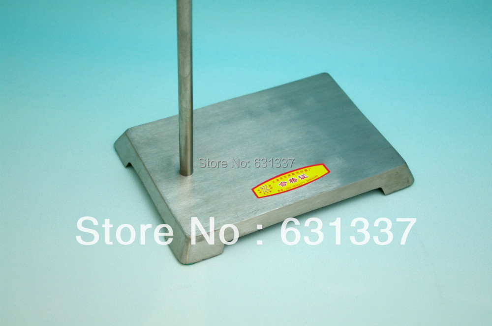 Lab Stainless Retort Support Stand Base 210x200mm, Rod 10x650mm-Each<br>