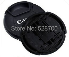 Free shipping + tracking number EMS DHL Camera Lens Cap For Canon 49mm 52mm 55mm 58mm 62mm 67 mm 72 mm 77mm 82mm Lens(China)