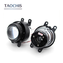 TAOCHIS M6 2.5 inch Fog light Projector Lens OEM For Toyota Corolla Prado Camry Yaris Levin foglight lamp Hid Bi-xenon H11 kit(China)