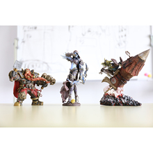 XINDUPLAN 3Pcs NEW Dota 2 Sylvanas Windrunner Dwarf King Goblin Wrath Lich King Action Figure Toys Game PVC Collect Model 0334(China)