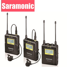 Saramonic UWMIC9 UHF Video Broadcast Interview Lavalier Wireless Microphone System for Canon Nikon DSLR Camera Sony Camcorder(China)