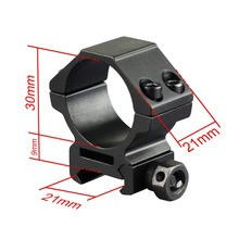 2 Pcs Weaver Scope Mount 30mm Rings Low Profile Fit for 20mm Picatinny Rail Mount New