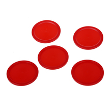 5Pcs 2 inch Mini Air Hockey Table Pucks 50mm Puck Children Table New(China)