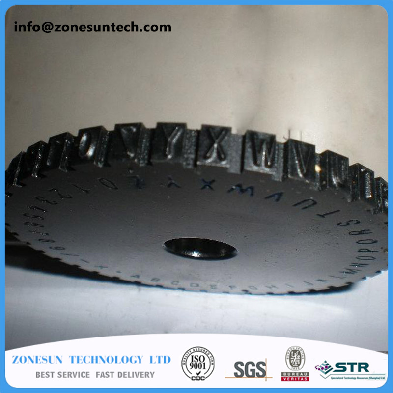 embossing machine gear for manual steel , label engrave tool 1 pc price<br>
