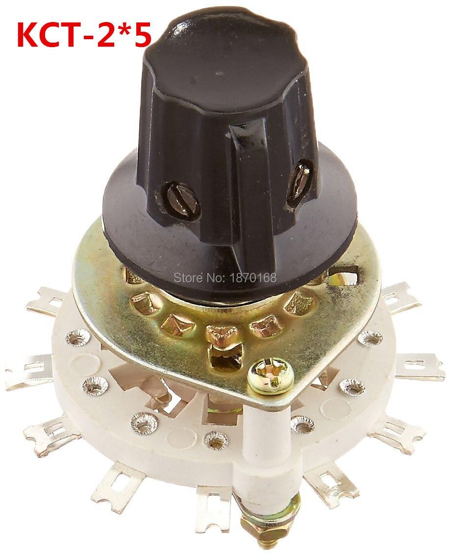 uxcell/® 2 X Black 7//8 Plastic Potentiometer Volume Rotary Turning Knobs