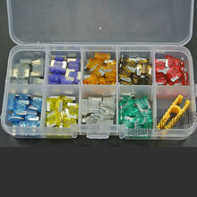 90 pc 2,3,5,7.5,10,15,20,25,30 AMP Low Profile Micro Blade Mini Fuse Assortment Set APS Car Auto Truck SUV(China)