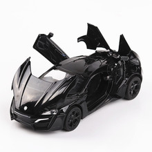 KD Alloy Excellent Hypersport Model, Scale 1:32 N 4 Open Doors/Pull Back N Return Toys Car(China)