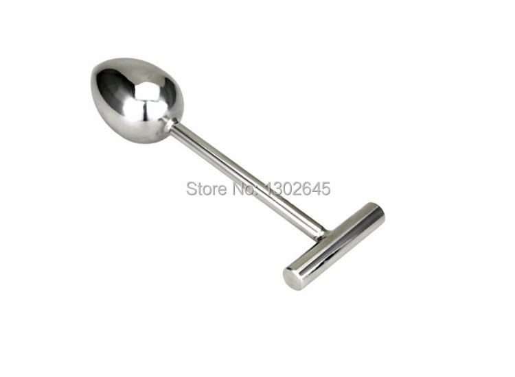 40mm Stainless Steel Anal Plug Booty Beads Adult Gays Erotic Sex Toys With Handle Dildo For Men Women<br>