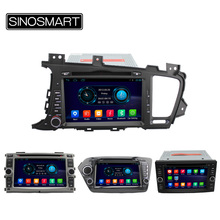 SINOSMART Android 4.4 Car Radio DVD GPS Player for KIA K2/Rio/K5/Optima/Forte/Cerato/Ceed/Sportage/Sorento/Carens NO Canbus