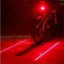 2016 Hot Sale Cycling Safety Bicycle NEW Led Bike Light ! Tail Rear Bicycle Light Bycicle Lamp Caution Light(China)