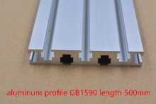 1590 aluminum extrusion profile white length 500mm industrial aluminum profile workbench 1pcs