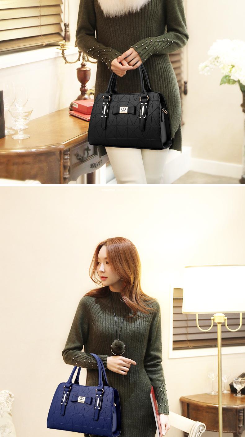 MICKY KEN Hot Sale Fashion Women Leather Handbag 6
