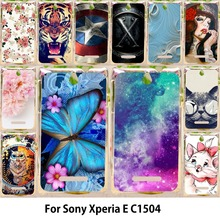 Buy TAOYUNXI Phone Cases Sony Xperia E C1504 C1605 C150x 3.5 inch C1505 Dual C1604 Cases Hard Back Covers Skin Sheath Hood Bags for $1.46 in AliExpress store