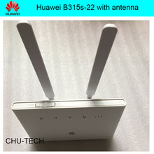 Unlock Huawei B315, Huawei 4g portable wireless router huawei b315s-22 lte wifi router+2pcs 4g SMA antenna(China)