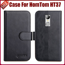 Buy Hot Sale! HomTom HT37 Case New Arrival 6 Colors High Flip Leather Protective Phone Cover HomTom HT37 Case for $5.82 in AliExpress store