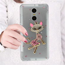 Fashional Rhinestone Crystal Cell Phone Case For XiaoMi RedMi Pro,Bling Pattern Style Soft Phone Case Shell For RedMi Note4