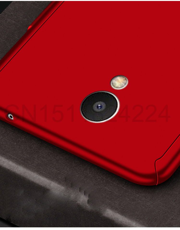 360 Full Case For Meizu Pro 7 Cases Hard PC Degree For Meizu  M6 Note M6 M5 Note  M6s Cover + Tempered Glass A11