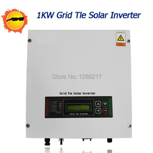 1KW Grid-connected Inverter Grid tie Solar Inverter DC100V to 500V Convert AC220/230/240V,50/60HZ for Power Conditioning System