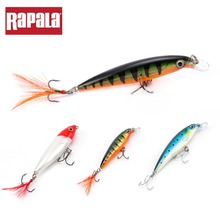 3p/lot RAPALA X-RAP XRKIT1 Lure set Fishing Lure Artificial Hard Bait Crankbait VMC Minnow Hooks 3D eyes for Casting Trolling