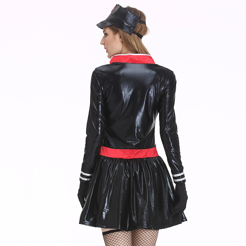 3 Free Gifts Women Latex Y Costumes Fantasia Ual Police Uniforms Military Clothing Apparel Dress On Aliexpress Com Alibaba Group