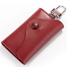 Car Key Bag Leather Manufacturers Wholesale Customized Multi Functional Creative Lady's Key Bag Kraft Explosion Models