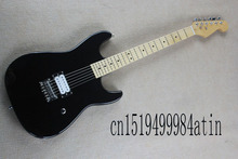 Free shipping Stratocaster made in usa 6 string black Maple fingerboard Electric Guitar custom body !! @32