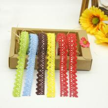 DIY Fabric Lace Washi Tape Self Adhesive Scrapbook Sticker(China)